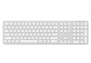 SATECHI ALUMINUM BLUETOOTH KEYBOARD Silver | iMac