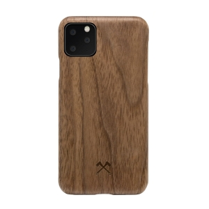 WOODCESSORIES Slim Case Wood Walnut | iPhone 11 Pro