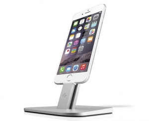 TWELVE SOUTH HiRISE DOCK SILVER | iPhone Xs / Xs Max / Xr / X / 8 / 8 Plus