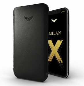 MILAN Ultraslim Leather Case wsuwka | iPhone Xs