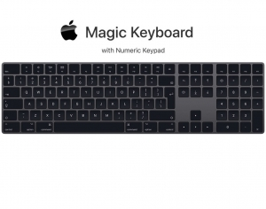 Apple Magic Keyboard with numeric keypad Space Gray