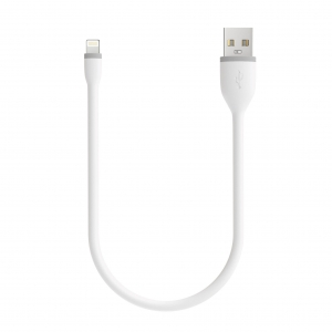 "SATECHI Flexible Lightning Cable White 10"" (25 cm)"