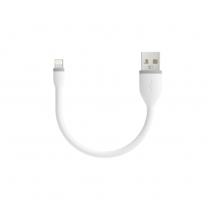 "SATECHI Flexible Lightning Cable White 6"" (15 cm)"
