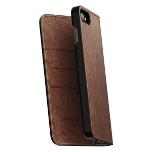 NOMAD Folio Leather Brown | iPhone 7 / 8 Plus