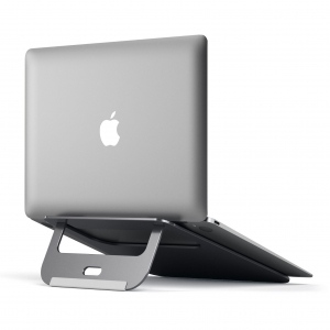 SATECHI ALUMINUM MACBOOK STAND | Space Gray