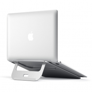 SATECHI ALUMINUM MACBOOK STAND | Silver