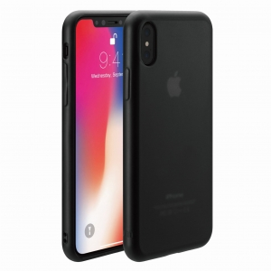 Just Mobile TENC™ Matte Black | iPhone X