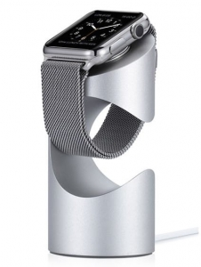 JUST MOBILE TIME STAND SILVER | ALUMINIUM | Apple Watch Series 4