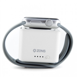 ZENS Powerbank 1300 mAh do Apple Watch | White
