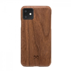 WOODCESSORIES Slim Case Wood Walnut | iPhone 11