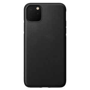 NOMAD Case Leather Rugged Black | iPhone 11 Pro Max