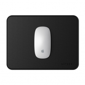 SATECHI Leather MousePad Black