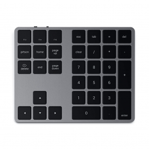 SATECHI Extended Wireless Keypad | Space Gray