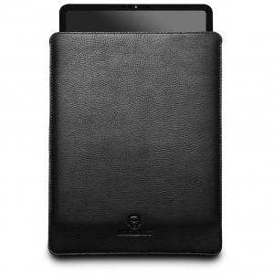 WOOLNUT Leather Sleeve Black | iPad Pro 12.9""