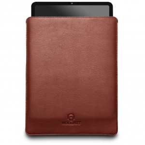 WOOLNUT Leather Sleeve Cognac Brown | iPad Pro 12.9""