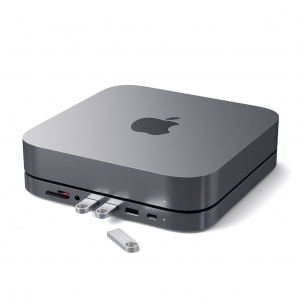 SATECHI TYPE-C ALUMINUM STAND & HUB FOR MAC MINI