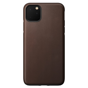 NOMAD Case Leather Rugged Rustic Brown | iPhone 11 Pro Max
