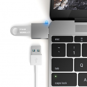 SATECHI ADAPTER USB-C USB Space Gray | MacBook