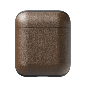NOMAD Rugged Case for AirPods Rustic Brown Leather