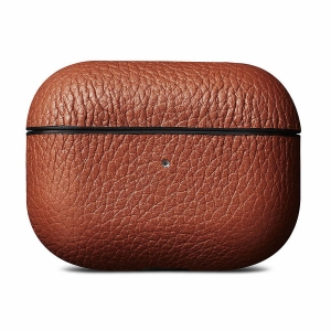WOOLNUT Leather Case Cognac for AirPods Pro