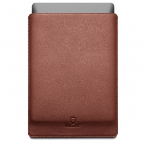 WOOLNUT Leather Sleeve Cognac Brown | MacBook Pro 16""