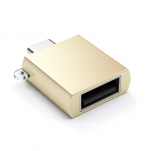 SATECHI TYPE-C TO TYPE-A ADAPTER | Gold