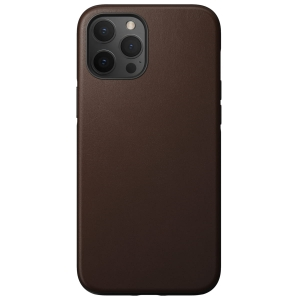 NOMAD Case Leather Rugged Rustic Brown | iPhone 12 Pro Max