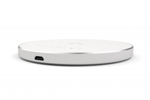 SATECHI Aluminum Wireless Charger Silver