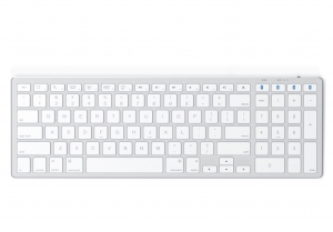 SATECHI ALUMINUM SLIM WIRELESS KEYBOARD Silver | iMac