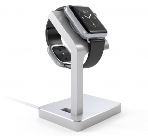 SATECHI ALUMINUM WATCH SERIES 4 CHARGING STAND | Silver