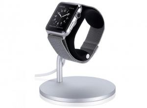 ALUMINIOWY JUST MOBILE LOUNGE DOCK | Apple Watch Series 4