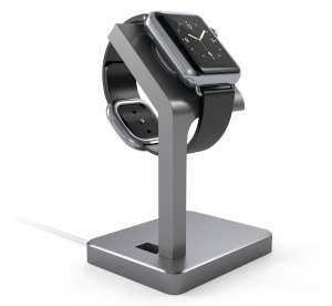 SATECHI ALUMINUM WATCH SERIES 4 CHARGING STAND | Space Gray